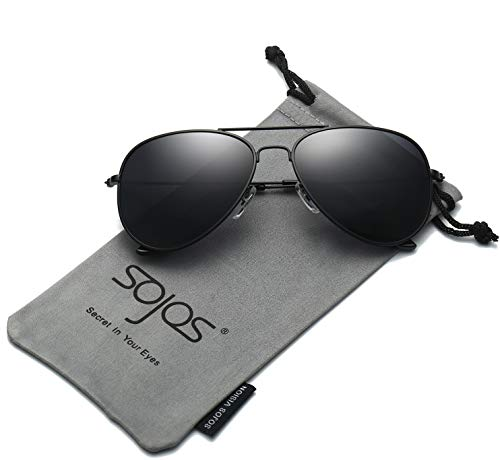 SOJOS Classic Aviator Polarized Sunglasses Mirrored UV400 Le
