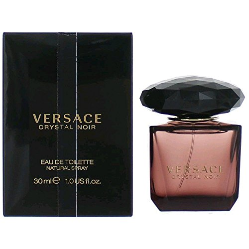 Crystal Noir by Versace Women's Eau De Toilette Spray 1 oz - 100% (Versace Gardenia Eau De Toilette)