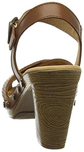 Gabor Ryder - Sandalias Mujer Marrón - Brown (Brown Leather)