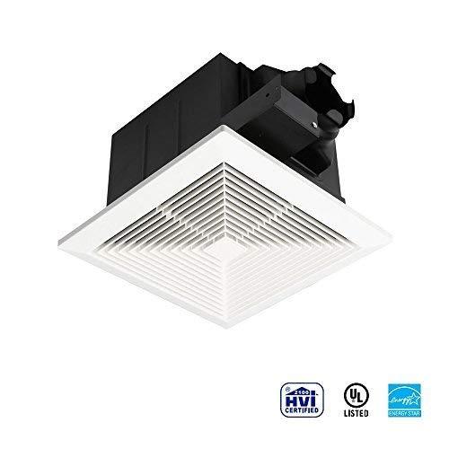 Ultra Quiet Ventilation Fan Bathroom Exhaust Fan (70CFM/0.3Sone) with 4 Inch Duct Size ()