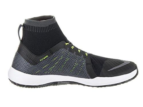 Nike Mens Flylon Train Dynamic Training Shoe Nero / Bianco Volt Grigio Scuro
