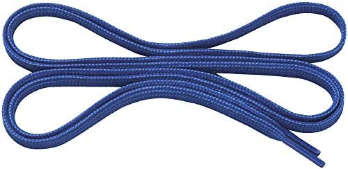 フラットシューレース (平型) 8ZA210 靴ひも 27)ブルー