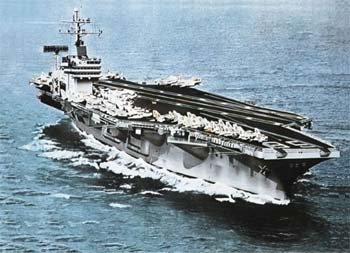 USS Nimitz Carrier 1/720 Italeri