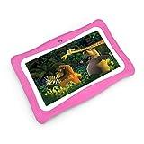 """BENEVE Tableta para niños, Pantalla de 7"""", Tableta Android 7.1 Edition con 1G + 8G, Software para niños iWawa preinstalado"""