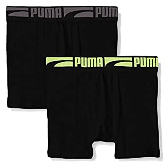 PUMA Boys' Socks and Underwear Packs - Black - Medium