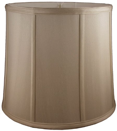 "American Pride 18""x 20""x 20"" Round Soft Tailored Lampshade,"