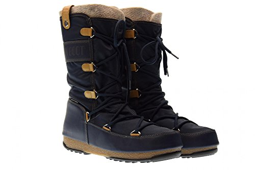 Moon Boot Women's W.e. Monaco Wp Snow Boots Blue Denim xNvL2kA
