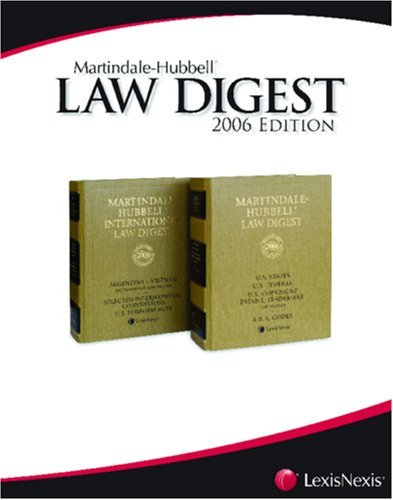 Martindale-Hubbell Law Digest: Portugal [Paperback] [2006] (Author) of Cascais. Revision by Dr. Nuno Reynolds Telles Pereira and Dr. Miguel Almeida Fernandes