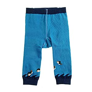 Ziggle Baby Knitted Leggings – Penguins (12-24 Months)