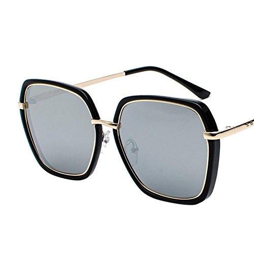Aoligei Hommes femmes lunettes de soleil rétro couleur lumineuse grande couleurs Polarized lunettes de soleil tendance 6Mj5xD5