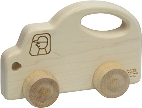 Push N Pull Truck - Made in USA - Schoolhouse Naturals