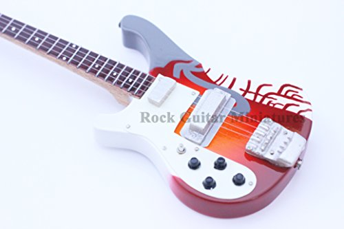 RGM195 Paul McCartney Psychadelic Bass Miniature Guitar