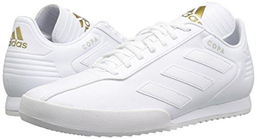 6b97b1790f29b adidas Originals Men's Copa Super Soccer Shoe White/Gold Metallic, 10 M US
