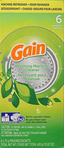 Gain Washing Machine Cleaner, 6 (Laundry Machine Cleaner)
