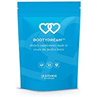 Gluteboost - BootyDream Butt Enhancement Pills - for Women - Natural Buttocks Enhancing Supplement - with Maca Root, Rose Hips, and Saw Palmetto - 1 Month Supply