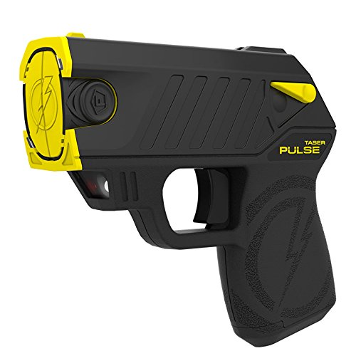 Taser 39061 Pulse Self-Defense Tool with 2 Live Cartridges and Target, Medium, Black