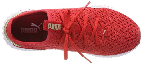Ribbon de Femme Gold Red Puma Rouge Fitness Wn's Varsity 02 Defy metallic Chaussures ypwxxqO6g8