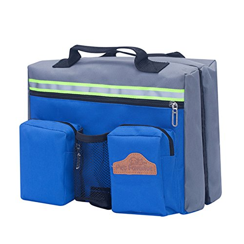 CozyCabin Dog Saddlebag Backpack Harness Carrier Camouflage Adjustable Style Dog Accessory Pack Hiking Camping Training Travel Bag for Medium & Large Dogs (Contour Saddlebag)
