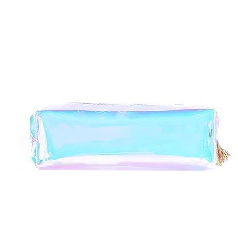 Amazon.com: Fitlyiee - Estuche para cosméticos, holográfico ...