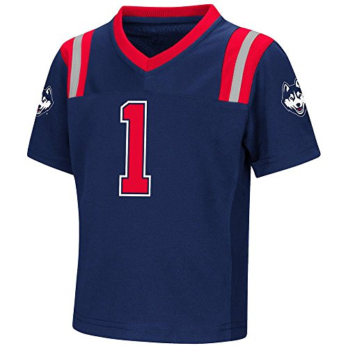 Colosseum Toddler UConn Huskies Football Jersey - 5T ()