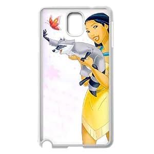 Pocahontas funda Samsung Galaxy Note 3 caja funda del teléfono celular del teléfono celular blanco cubierta de la caja funda EEECBCAAL13782
