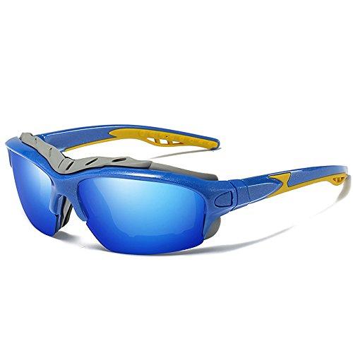 Gafas sol de Wind Jinete Azul seguridad Polarizadas Gafas Outdoor hombres Nuevas Espejo De Sol SEEKSUNG® ksung® Mar rojo de MS Gafas Arena rojo Sports qHYTw4