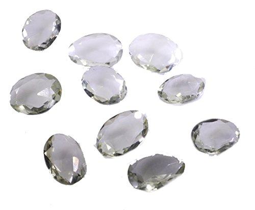 vert pierres précieuses en vrac améthyste 1 de pièces 9 x 11 mm ovale pierres précieuses facettes vert