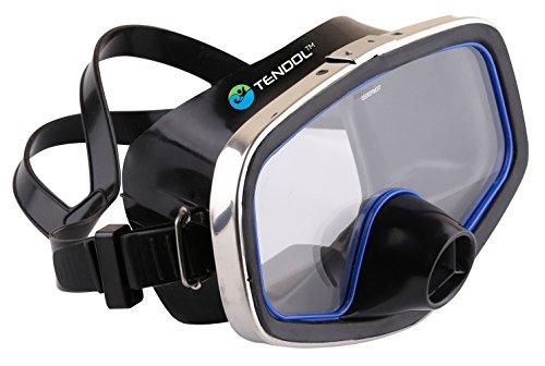 Tendol™ Scuba Diving Mask/Diving Mask Purge Valve/ Silicone Skirt/Metal Frame