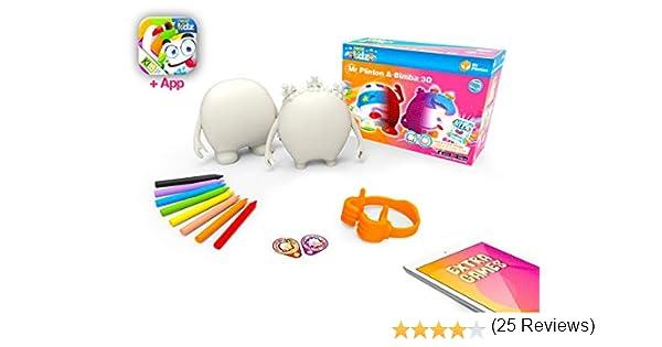 kibi Mr Plinton & Bimba 3D - Muñecos Creatividad para ...