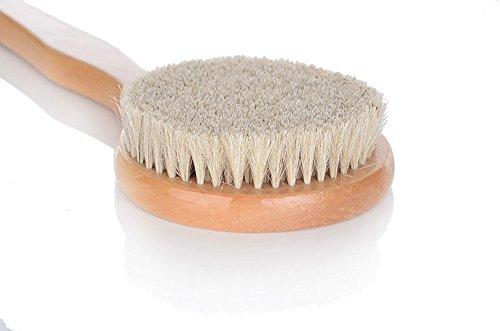 Suyisuer 100 natural horse hair bath brush body scrubber - Natural horse hair interior upholstery brush ...