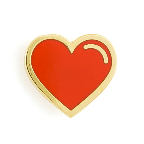 (These Are Things Red Heart Enamel Pin)