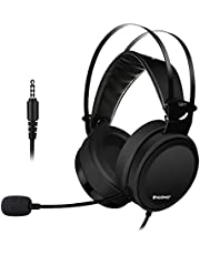 ELEGIANT Cuffie Gaming, Headset PS4 PC con Microfono Stereo Bass Isolamento del Rumore per Xbox One Portatili Mac Tablet iPhone XS Max XR x 8 iPad Samsung S9 S8+ Huawei P20 Lite 10 HTC LG Sony
