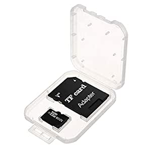 32GB Class 10 Memory Card TF Card by ESCAM with Adapter for Car Recorder Camera Smart Phone Table PC MP3/MP4, Black