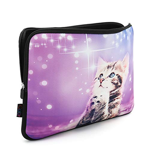 """iColor 12"""" Laptop Sleeve Bag 11.6 12.1 12.2 inch Neoprene Notebook Tablet Computer PC Protection Sleeve Cover Case Carrier"""