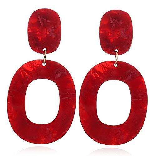 Wausa Boho Geometric Womens Round Dangle Drop Hook Ear Stud Earrings Party Jewelry New | Model ERRNGS - 7426 |