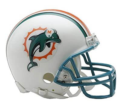 Miami Dolphins 1997-12 Throwback NFL Riddell Replica Mini Helmet