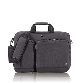SOLO UBN310 15.6-Inch Laptop Hybrid Briefcase Backpack - Grey
