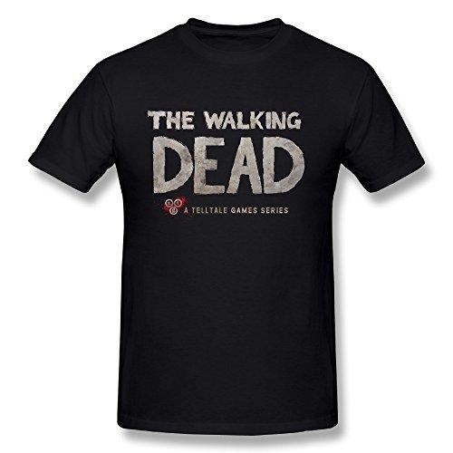 The Walking Dead Men's Two Fire Logo 2015 T-shirt