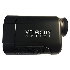 Velocity Optics 4-600 Yard Golf Range Finder Laser Rangefinder - 2018 Model - [USA Brand & Warranty] Selectable Mode, Waterproof 6X Rangefinder, Scan Mode