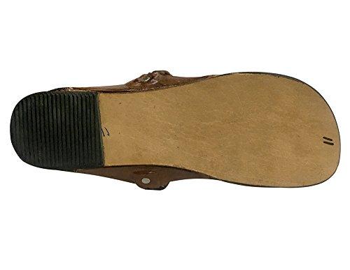 Step N Style Tradizionale Kolhapuri Scarpe Etniche Fatte A Mano Scarpe Indiane Sandalo Casual