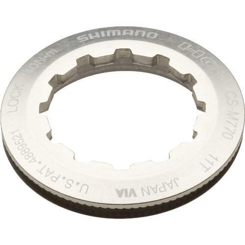 SHIMANO XT M770 9-Speed Lockring for 11t ()