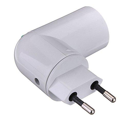 PP To E27 Base LED Light Lamp Holder Bulb Adapter Converter Screw Socket with On/Off Switch