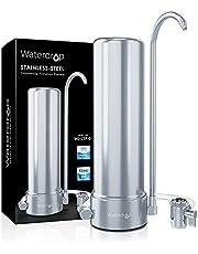 Waterdrop WD-CTF-01 Countertop Waterfilter, 5-traps Roestvrij Staal Filter Systeem, 8000 Gallons Faucet Water Filter, Vermindert 99% Van Chloor, Zware Metalen, Slechte Smaak (1 Filter Inbegrepen)
