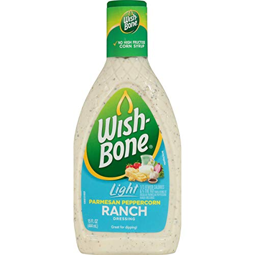 (Wish-Bone Salad Dressing, Light Parmesan Peppercorn Ranch, 15 Ounce)