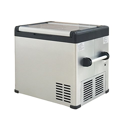 Ipalmay new compressor freezer car refrigerator AC 12V DC24V fridge icebox chamber for Home, Office, Car - 70L Capacity