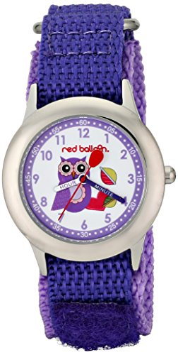 Red Balloon Kids' W000333''Love Owl'' Stainless Steel Watch by Red Balloon (Image #3)