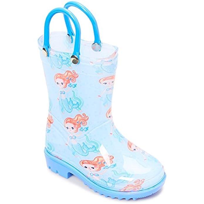 Storm Kidz Kids Girls Printed Rainboots Assorted Prints Toddler/Little Kid/Big Kid Sizes