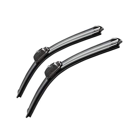 "MOTIUM OEM QUALITY 19""+18"" Premium All-Season Windshield Wiper Blades,1 Year Warranty(Set of 2)"