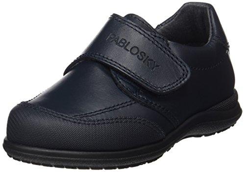 Pablosky 320320, Zapatos con Velcro Infantil Azul Oscuro