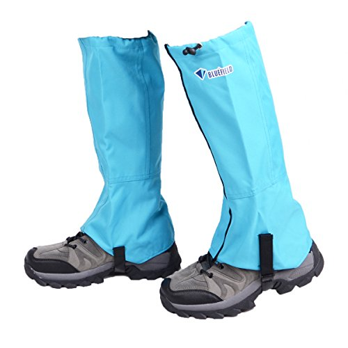 Azarxis Hiking Gaiters for Outdoor Camping Running Walking Backpacking Women Men Ankle Leg Guard Boot Legging Gaiter Cover Snow Breathable Lightweight Waterproof Durable Wrap Mountain Hunting Climbing